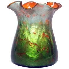 Vase Tapering Loetz Widow Klostermuehle Art Nouveau Titania Genre 4212