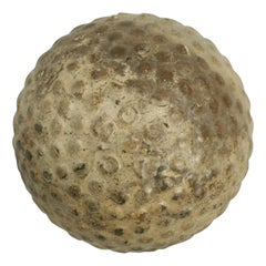 Antique Martins Bramble 'Zodiac' Golf Ball, Rubber Core, circa 1900