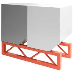 Skip Sideboard - Minimalist Postmodern Metal Cupboard