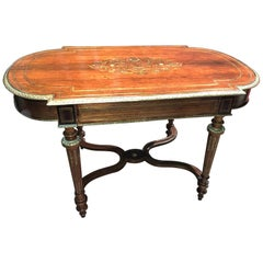 19th Century French Napoleon III Centre Table