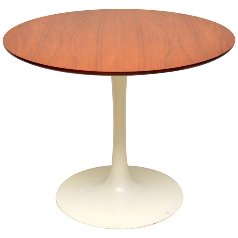 1960s Teak Vintage Tulip Dining Table By Arkana For Sale