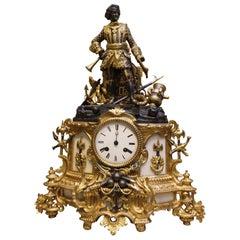 19th Century, Stamped Baschet Baullier, Paris Clock