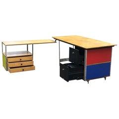 Herman Miller Desk with Return ESU Model D20