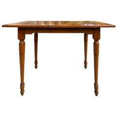 18th-19th Century Italian Parquetry Top Table