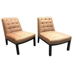 Dunbar Pair of Edward Wormley Lounge Chairs