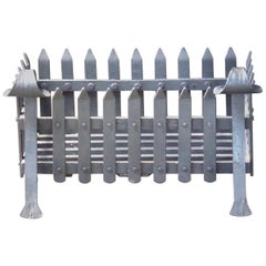 English Modernist Fireplace Grate, Fire Grate