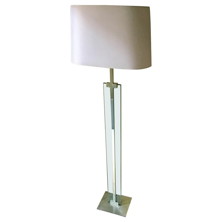 Fontana Arte floor lamp, 1960, offered by Naviglio in Snc