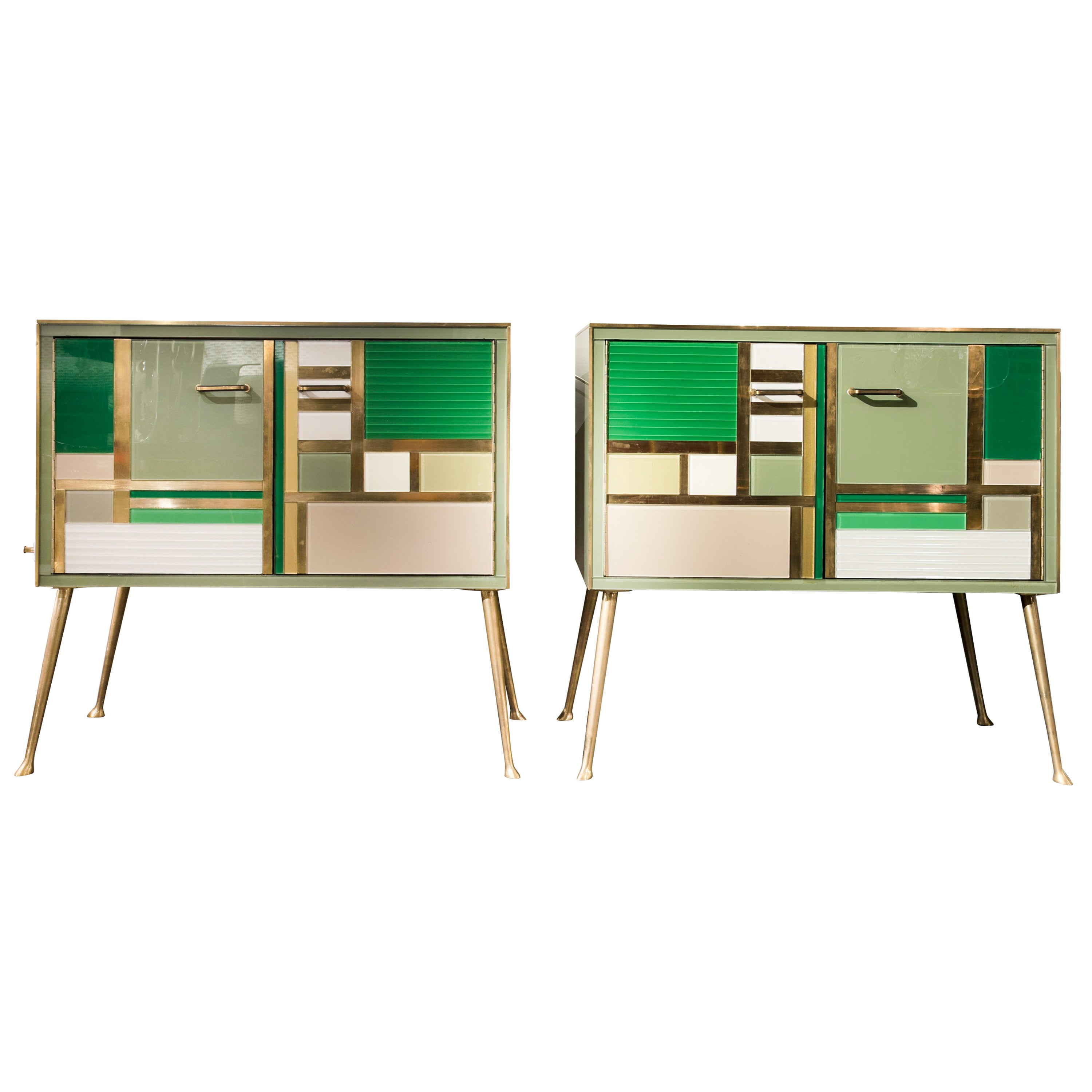 Superb Pair of Cabinets