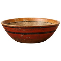 Hand Hewn African Wood Bowl