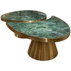 Wonderful Zoisite Coffee Table
