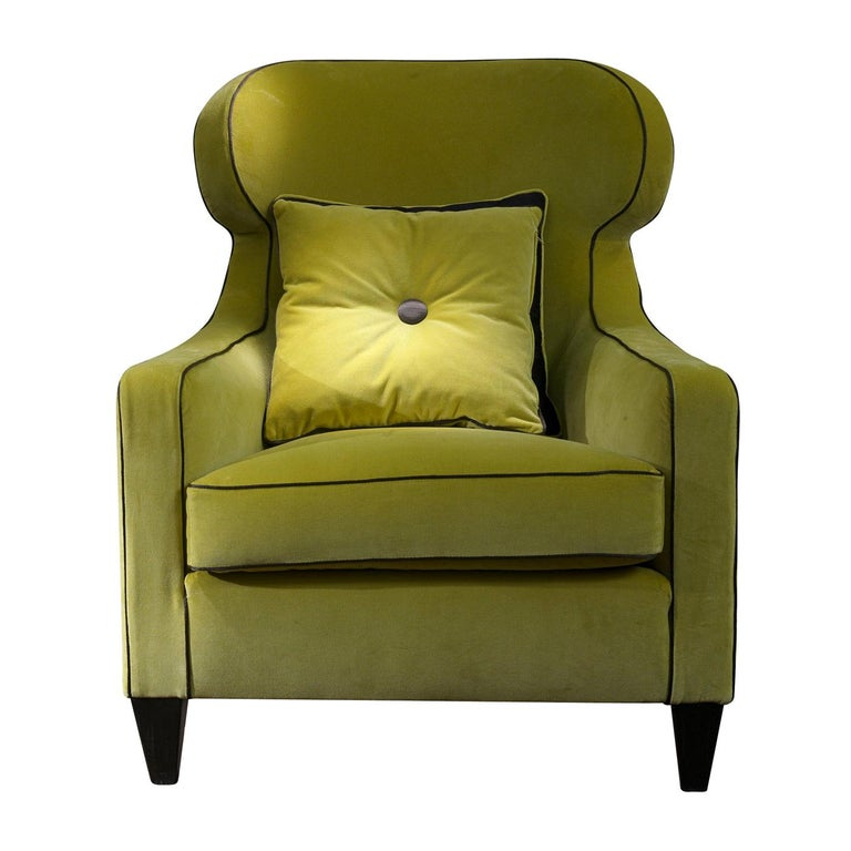 Agata Armchair with Pillow For Sale at 1stdibs