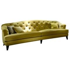 Berenice Green Sofa