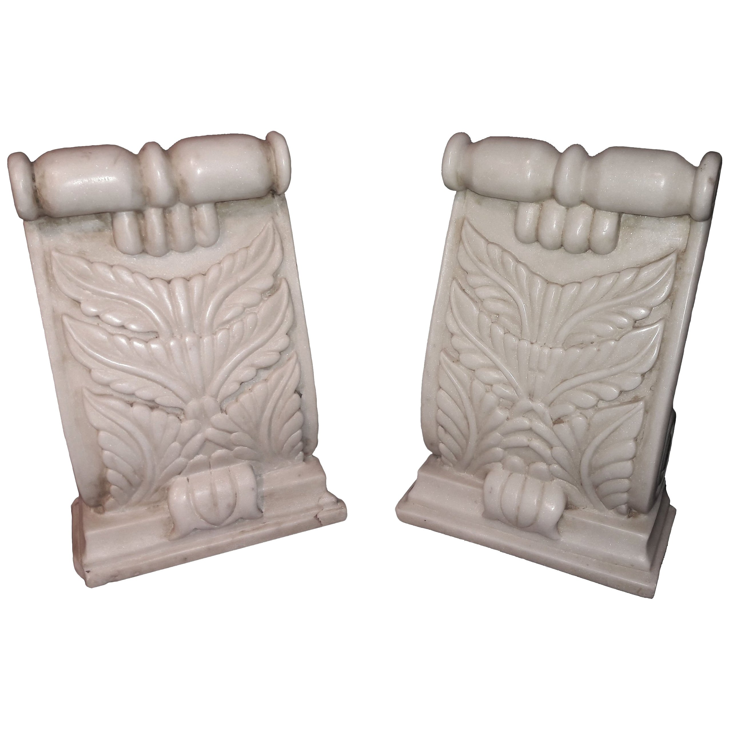 Hand Carved Marble Architectural Details from India, 20th Century