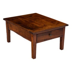 French Walnut Antique Coffee Table