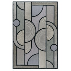 East of the Sun Rug, Grey Rectangular Wool Geometric, Lara Bohinc for Kasthall
