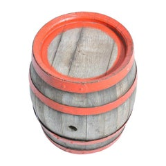 Oak Wood Wine Barrel, Czechoslovakia, circa 1950