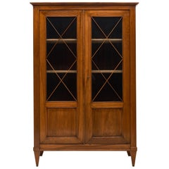 French Antique Directoire Style Bookcase