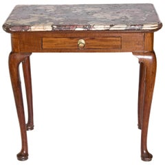 Early 18th Century Queen Anne Mahogany Side Table