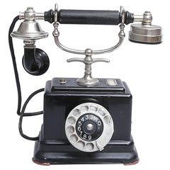 Table Phone with a Rotary Dial by L. M. Ericsson Stockholm, 1947