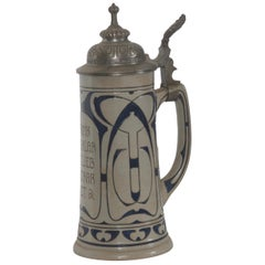 Early 20th Century German Beer Stein