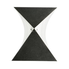 Single Black and White RAAK Sconce