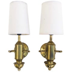 Pair of Nautical French Sconces