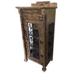 Distressed Display Cabinet by Sunrise Home