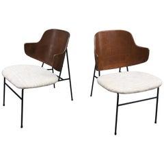 Kofod Larsen Pair of Penguin Chairs
