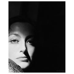 "Joan Crawford ""In The Shadows"" Limited Edition Kobal Foundation Print"