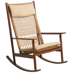 Rocking Chair for Juul Kristensen by Hans Olsen