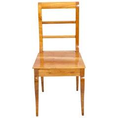 19th Century Biedermeier Cherrywood Chair