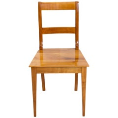 19th Century Biedermeier Cherrywood Chair