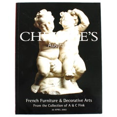 Christies April 2002 French Furniture & Decorative Arts, a & C Fink Collections