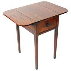 Georgian Drop Leaf Lamp Table