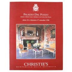 Christie's: Palazzo Dal Pozzo Arredi e Dipinti Dalla, September 1998