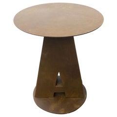 Industrial Outdoor Round Bistro Tables