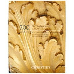 Christie's: 500 Years: Decorative Arts Europe, Carpets from the Corcoran Gallery