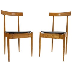 Pair of Very Rare Dining Chairs Alan Fuchs, ULUV, 1964