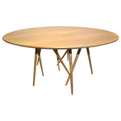 Round Toothpick Cactus Table by Lawrence Laske for Knoll