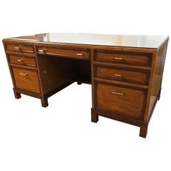 Custom Alderwood Executive Desk