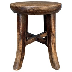 Early 20th Century Petite Chinese Stool