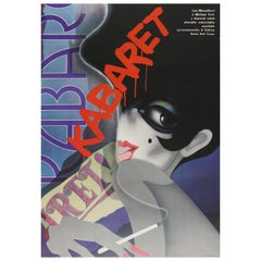 """Cabaret"" Original Vintage Movie Poster, Czech, 1989"