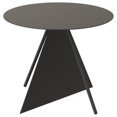 Haus Contemporary and Customizable Coffee Table in Powder Coated Black Paint