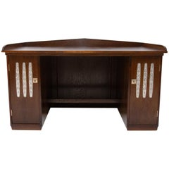 Early 20th Century Viennese Secession Writing Desk in Oak