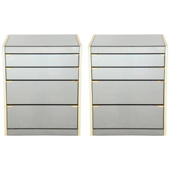 Pair of Chic Cabinets / Nightstands by Ello