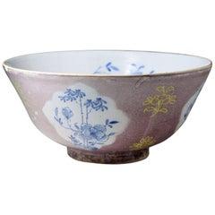 Large Scale London Delft Bowl, 1750