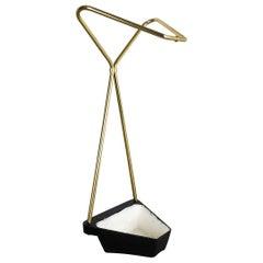 Midcentury Metal Brass Hollywood Regency Umbrella Stand, Germany, 1950s, Nr. 2
