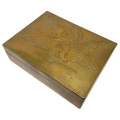 Brass Decorative Trinket Box
