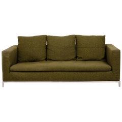 Green Fabric George Three-Seat Sofa by Antonio Citterio for B&B Italia