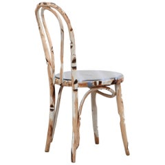 "Thonet Chair Re-Visited by Artist Markus Friedrich Staab Entitled ""Birch"""